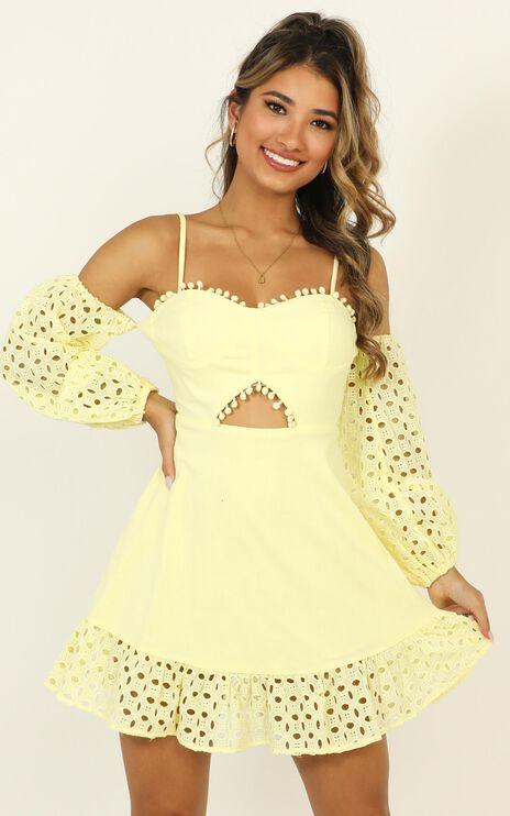 I Got Many Different Names Dress In Lemon