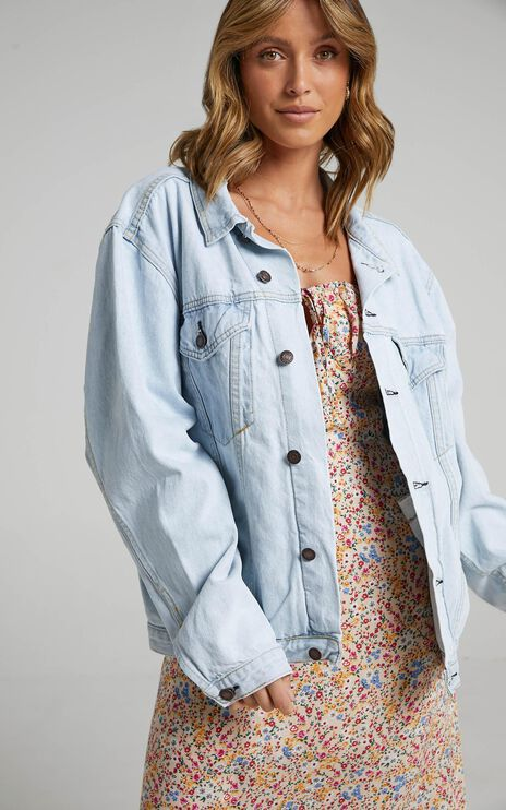 Gambit Denim Jacket in Light Wash