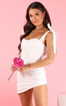 Lioness - Senorita Dress In White