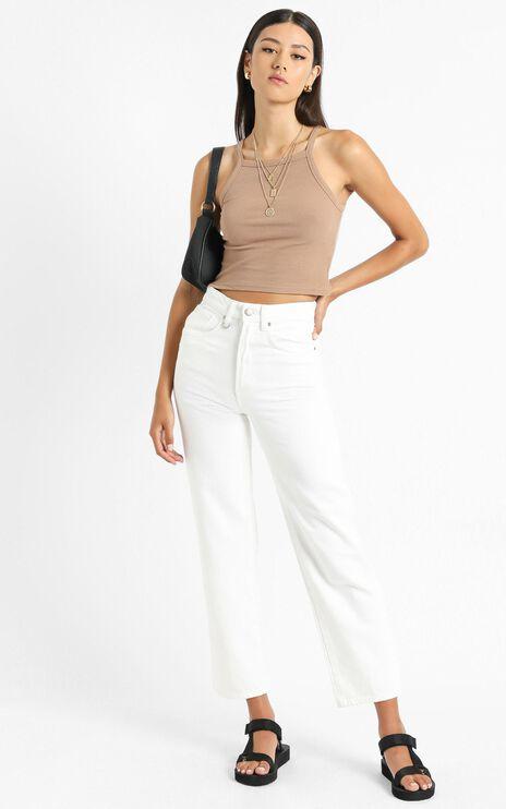 Neuw - Edie Straight Jean in White