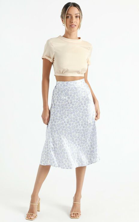 Ingrim Skirt in Lilac Floral