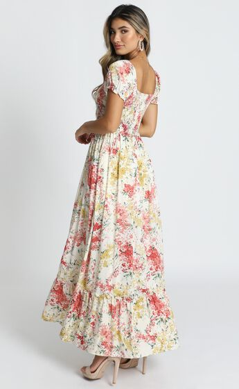 Sonia Dress in Multi Floral