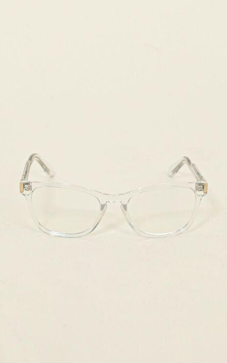 Quay - Hardwire Mini Blue Light Glasses In Clear