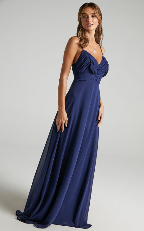 Just One Dance Dress in Navy
