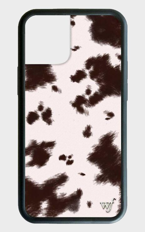Wildflower - Iphone Case in Brown Cow