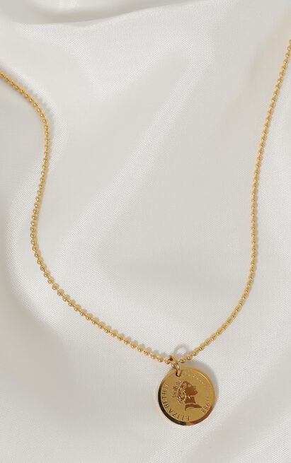 Peta And Jain - Sarai Necklace In Gold, , hi-res image number null