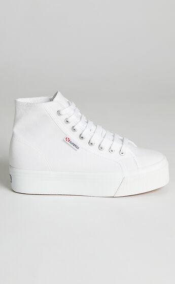 Superga - 2705 Hi Top Sneakers in 901 White