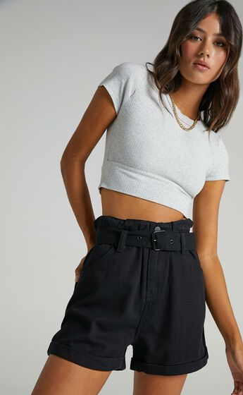 Inger Shorts in Black