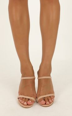 Billini - Elsie Heels In Blush Micro