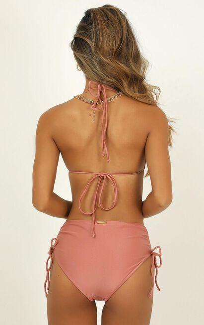 Alexis bikini top in rose metallic - 20 (XXXXL), Rose Gold, hi-res image number null