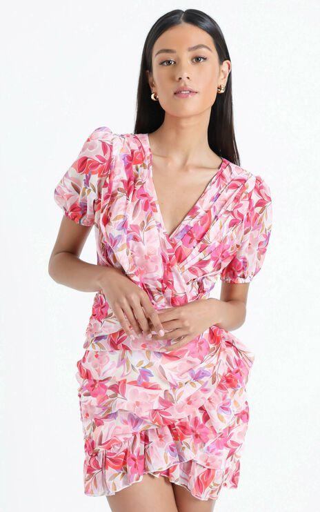 Arwyn Dress in Eventful Bloom