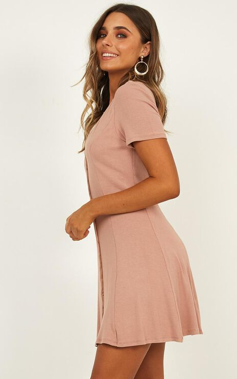 Changing Winds Dress In Blush