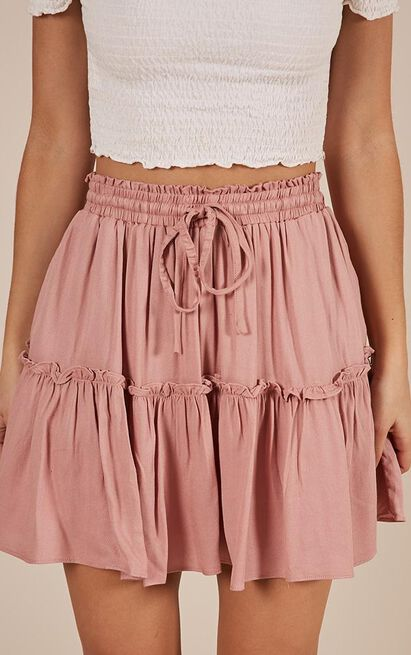 Final Promise skirt in blush - 14 (XL), Blush, hi-res image number null