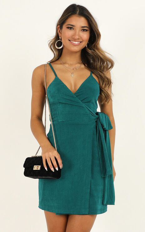 But I Got A Lot Of Style Dress In Emerald