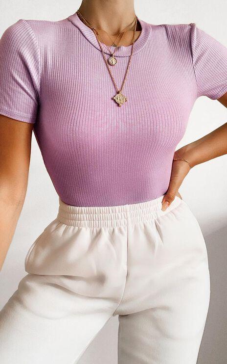 Tiverton Bodysuit in lilac
