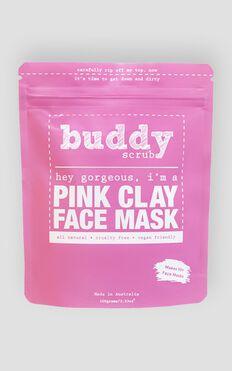 Buddy Scrub - Pink Clay Face Mask
