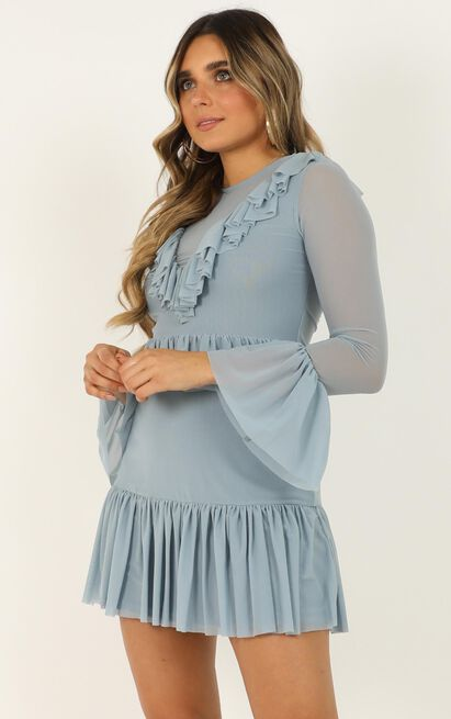 Gal Like You Dress in light blue - 14 (XL), Blue, hi-res image number null