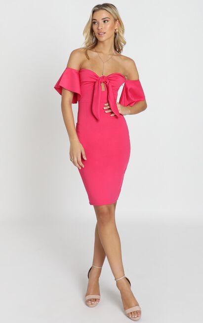 Guest Edit Dress in berry - 20 (XXXXL), Pink, hi-res image number null