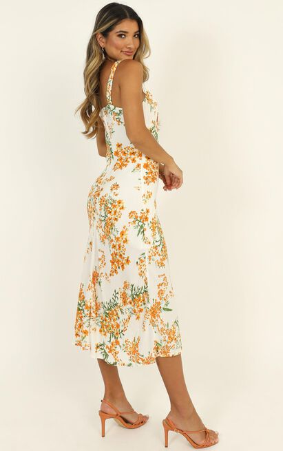 New Chapters dress in white floral - 6 (XS), White, hi-res image number null