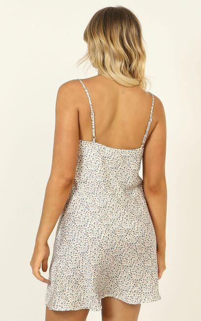 Kristie dress in beige - 12 (L), Beige, hi-res image number null