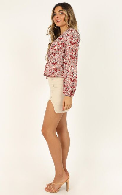 Made to Measure Top in blush floral - 12 (L), Blush, hi-res image number null
