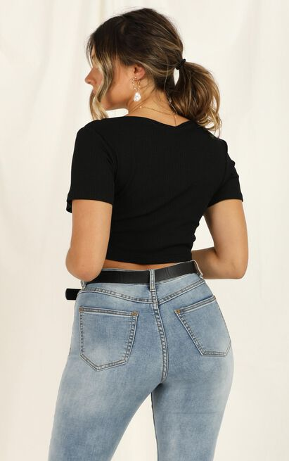 The Edge Top in black - 20 (XXXXL), Black, hi-res image number null