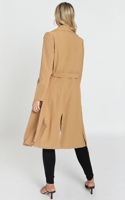 Back To the Start Coat in camel - 16 (XXL), Camel, hi-res image number null