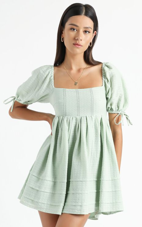 Isola Dress in Sage
