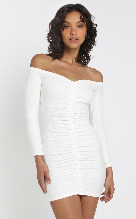 Bentley Dress in White