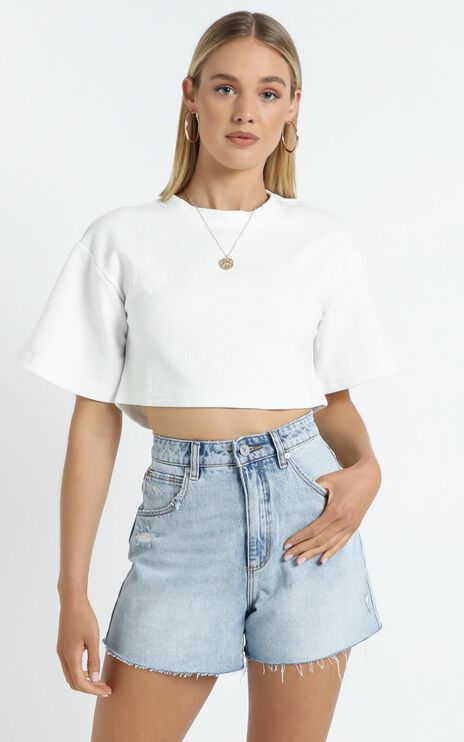 Ezmae Top in White