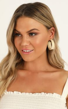 Have It All Earrings In Natural