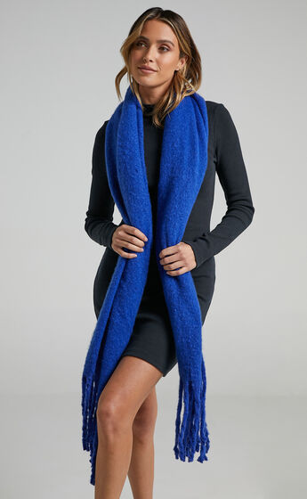 Lawrence Scarf in Cobalt
