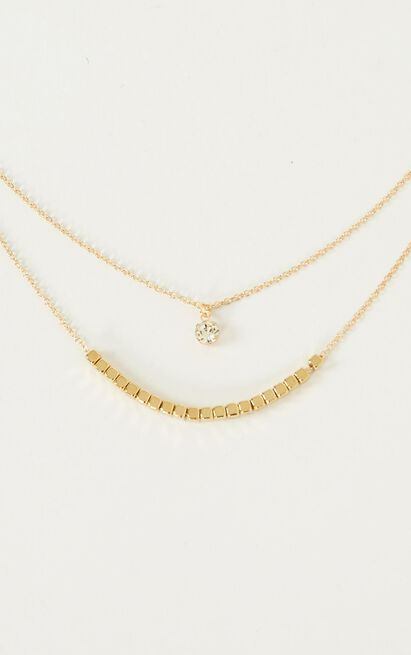 Feel The Sun Necklace In Gold, , hi-res image number null