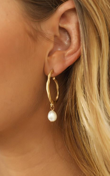 Special Request Earrings in Gold and Pearl