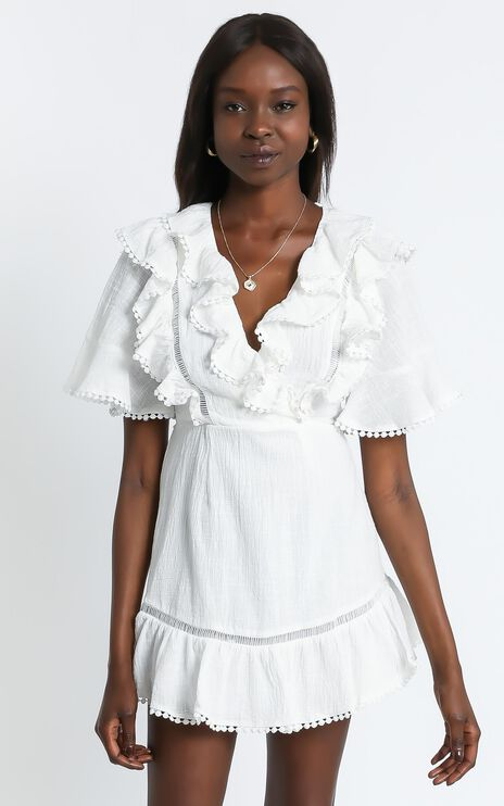 Lilii Dress in White