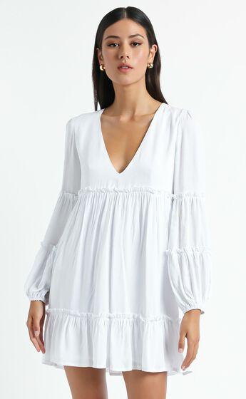 Summer Soul Dress in White