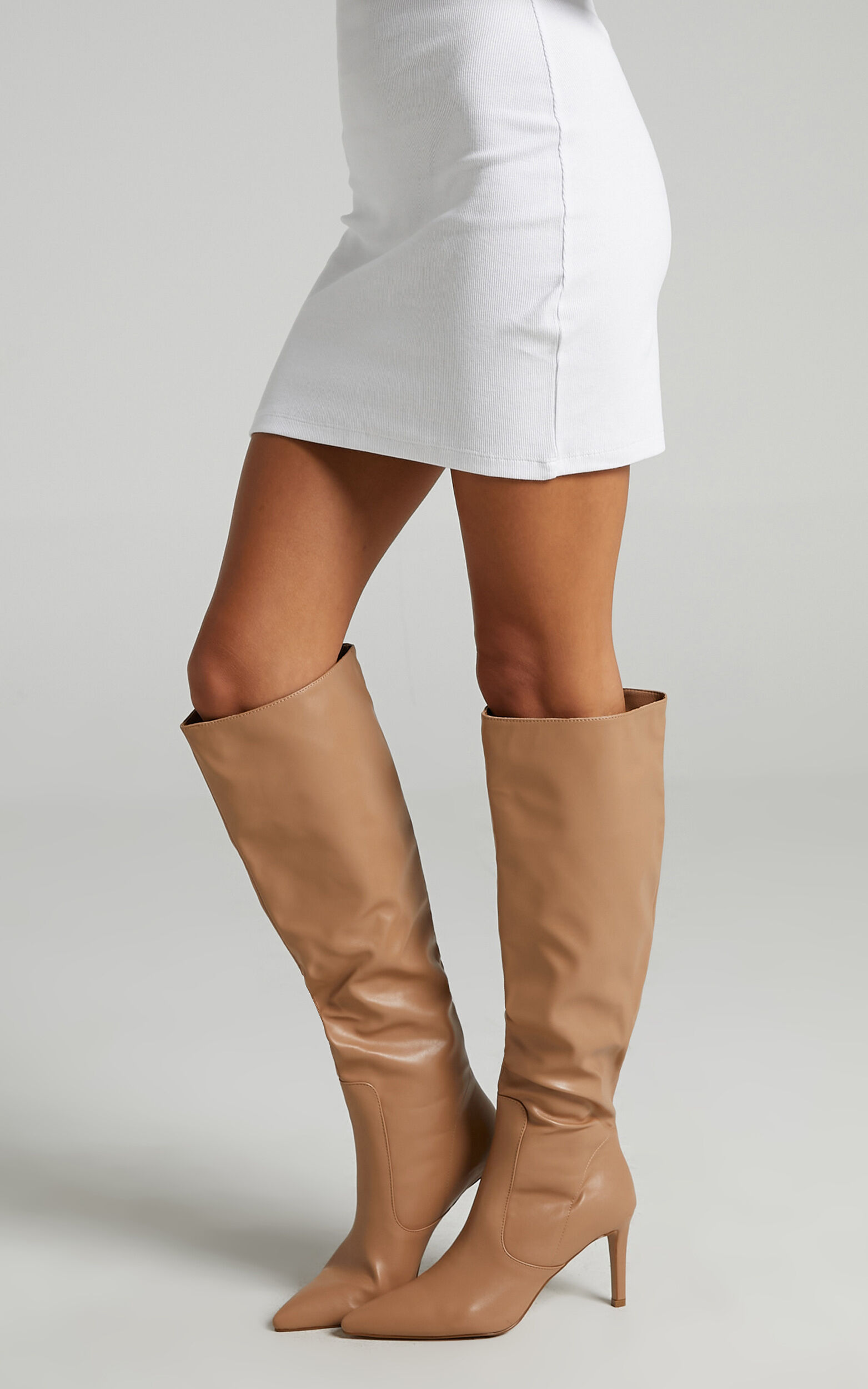 Billini - Britney Boots in Fawn - 05, BRN1, super-hi-res image number null