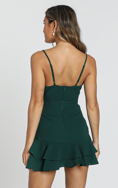 Feels Like Love Dress in forest green - 4 (XXS), Green, hi-res image number null