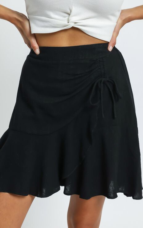 Taytum Skirt in Black