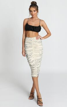 Fallout Skirt In Leopard Print