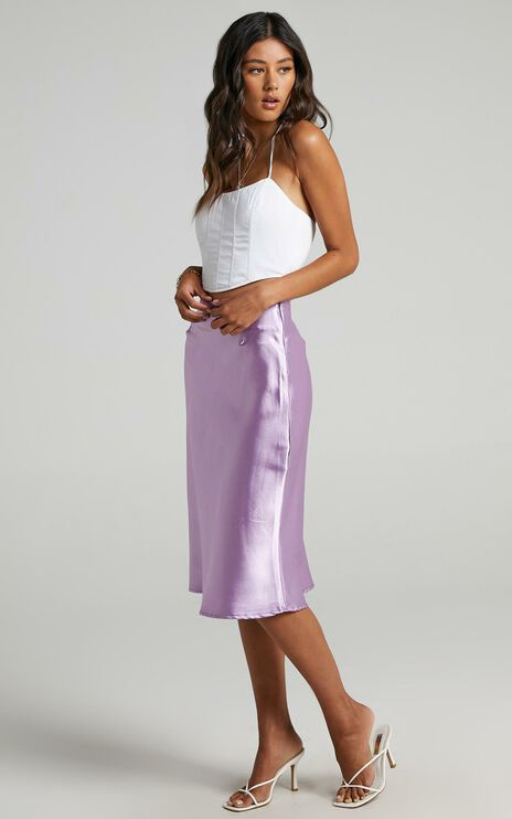 Creating Art Skirt in Lilac