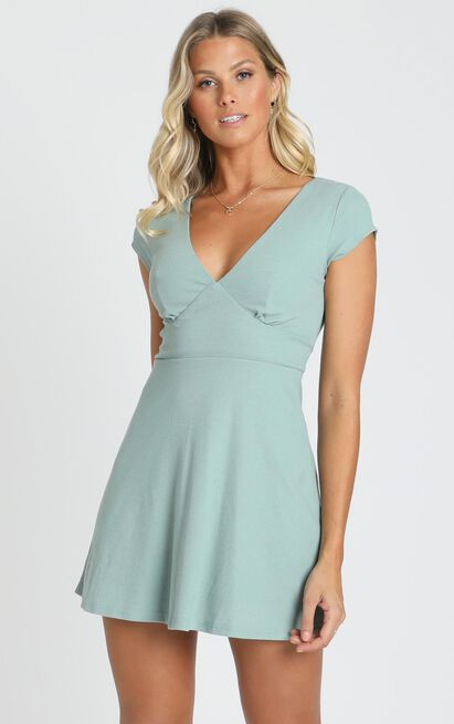 Changing Seasons Dress in sage - 20 (XXXXL), Sage, hi-res image number null