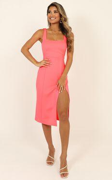 Mini Love Dress In Hot Pink
