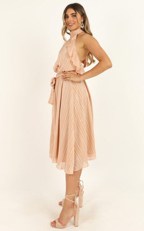 How Can I Breathe Dress In Blush