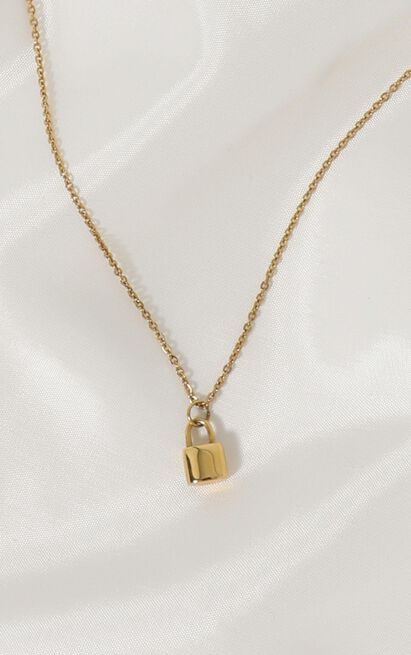 Peta and Jain - Louis Necklace In Gold, , hi-res image number null
