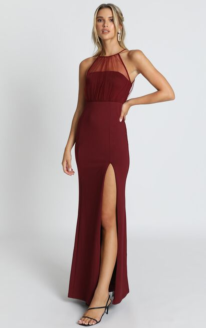 Still Love You Dress in wine - 20 (XXXXL), Wine, hi-res image number null