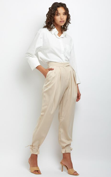 Oliver Pants in Beige