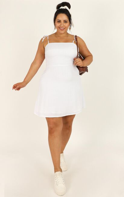 Afternoon Glow Dress in white - 20 (XXXXL), White, hi-res image number null