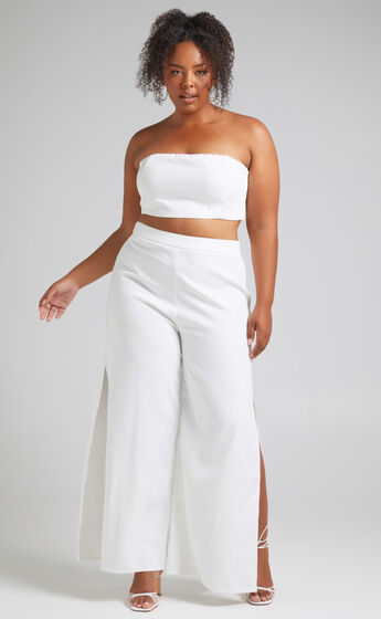 Im The One Two Piece Set in White