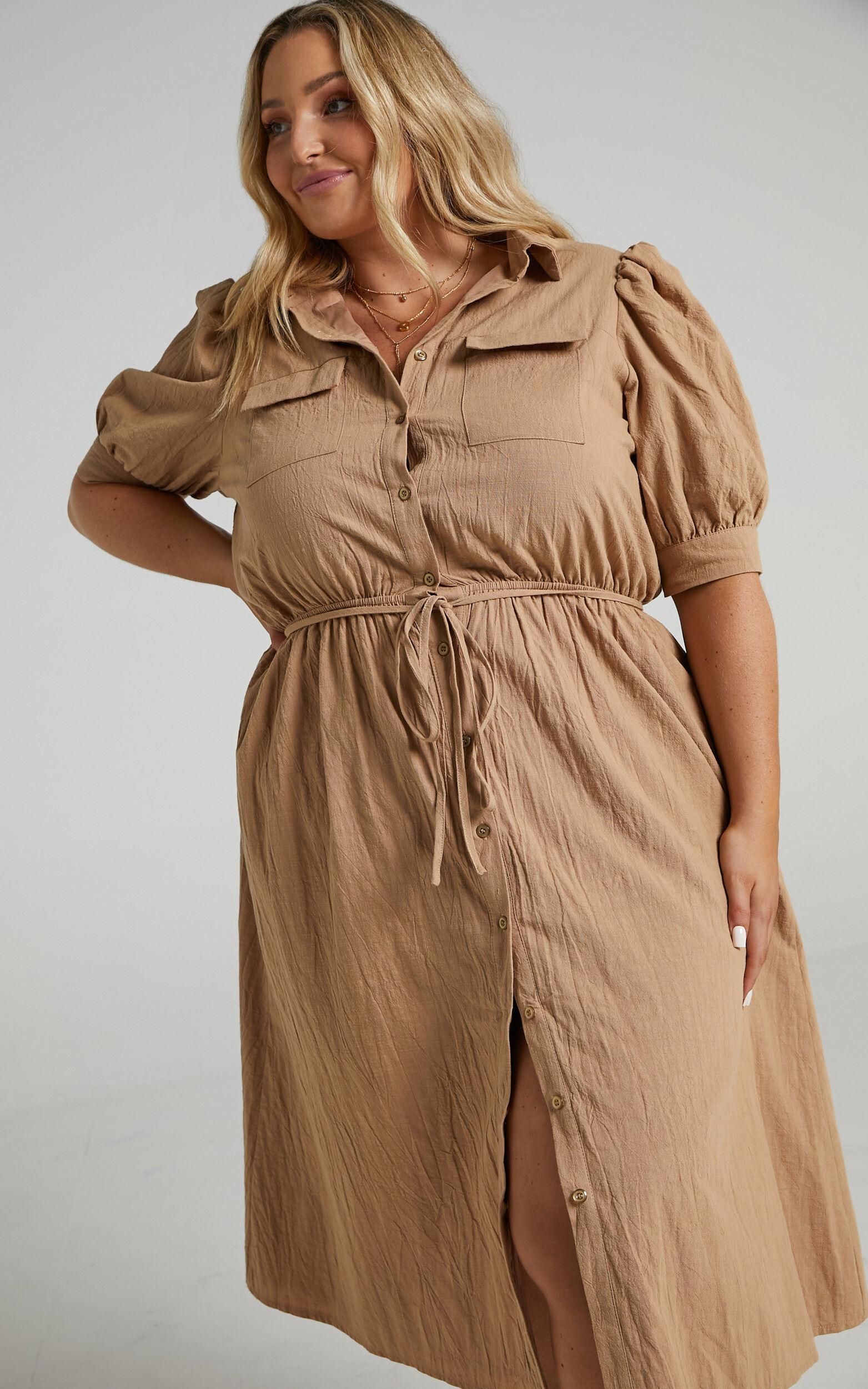 Tiras Dress in Mocha - 04, BRN2, super-hi-res image number null